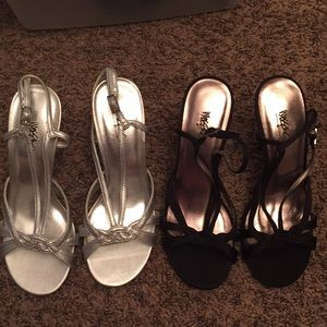 Two pair Bundle of Mossimo Heels